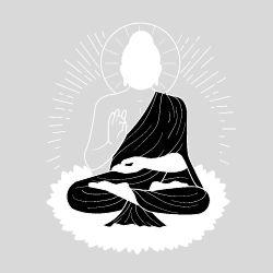 Buddhist Symbol for Inner Peace Tattoo