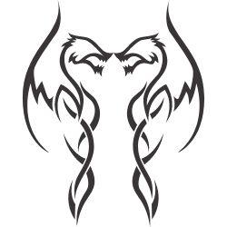 Inner Peace Tattoo on Back
