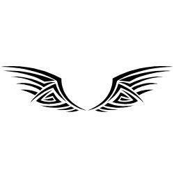 Inner Peace Tattoo on Neck