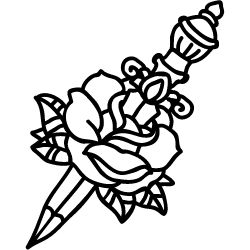 Peace and Love Tattoos