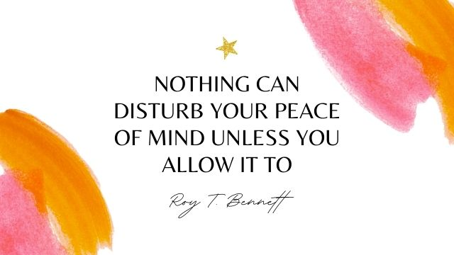Peace Of Mind Quotes Images