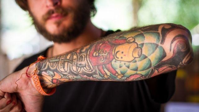 Peace Of Mind Tattoo man